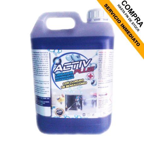 activ plus limpiador higienizante