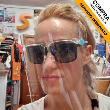 gafas con pantalla, se pueden poner sobre otras gafas