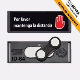 """Identificador personalizable con <p> cierre magnético </p><p style=""""background:orange; color:black; font-weight:bold; solid orange;"""">Desde 1,50 €/und</p>"""