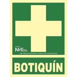 "RD14108<p> Señal Botiquin</p><p style=""background:orange; color:black; font-weight:bold; solid orange;"">2,56€/und</p>"