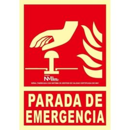"RD00134<p> Señal parada de emergencia</p><p style=""background:orange; color:black; font-weight:bold; solid orange;"">2,22€/und</p>"