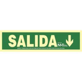 "RD12105<p> Señal Salida Flecha Abajo</p><p style=""background:orange; color:black; font-weight:bold; solid orange;"">2,10€/und</p>"