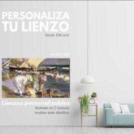 <h3>Lienzo Reproducción de Cuadro