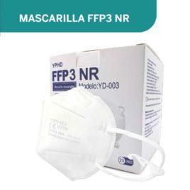 "MASCARILLAS FFP3 <p> BLANCAS </p><p style=""background:orange; color:black; font-weight:bold; solid orange;"">Desde 1,20 €/und</p>"
